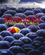 Essentials of Marketing Research : An Applied Orientation - Naresh K. Malhotra