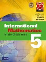 International Maths for the Middle Years 5 - Alan McSeveny