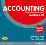 Accounting an Introductory Framework Teacher's CD - Kirkwood/Falt/Stanley