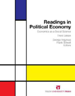 Readings in Political Economy : Economics as a Social Science : 3rd Edition