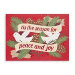 Peace and Joy Doves Holiday Glitz - Alyssa Nassner