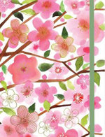 Cherry Blossoms Gilded Journal - Margaret Berg