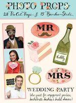 Wedding Party Photo Props - Darah E. Macres