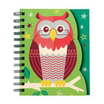 School Days Owl Layered Journal - Brave the Woods