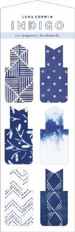 Indigo Magnetic Bookmarks - Lena Corwin