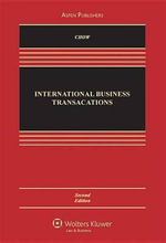 International Business Transactions : Problems, Cases, and Materials - Daniel C K Chow