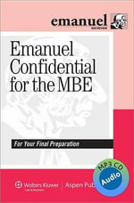 Emanuel Confidential for the MBE Audio Review - Steven L Emanuel