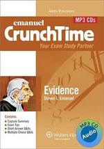 Emanuel Crunchtime : Evidence - Steven Emanuel