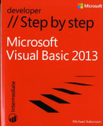 Microsoft Visual Basic 2013 Step by Step - Michael Halvorson