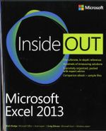 Microsoft Excel 2013 Inside Out - Mark Dodge