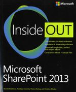 Microsoft Office 2013 Inside Out - Ed Bott