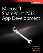 Microsoft SharePoint 2013 App Development - Scot Hillier