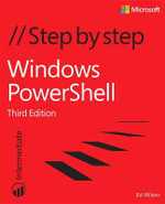 Windows PowerShell Step by Step - Ed Wilson