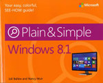 Windows 8.1 Plain & Simple - Nancy Muir