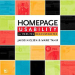 Homepage Usability : 50 Websites Deconstructed - Jakob Nielsen