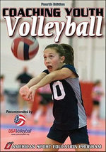 Coaching Youth Volleyball : Official Handbook of Hershey's Track and Field Gam... - ASEP
