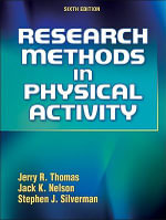 Research Methods in Physical Activity - Jerry R Thomas