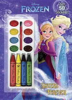 Sisters Forever (Disney Frozen) : Color and Paint Plus Stickers - Frank Berrios