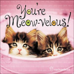 You're Meow-velous! - Rachael Hale