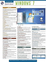 Windows 7 - Rea's Quick Access Reference Chart : Quick Access Reference Charts - The Staff of Rea