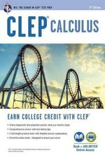 CLEP Calculus W/ Online Practice Exams - Gregory Hill