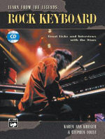 Learn from the Legends : Rock Keyboard, Book & CD - Karen Krieger