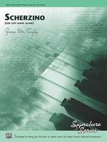 Scherzino (for Left Hand Alone) : Sheet - George Peter Tingley
