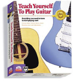 Alfred's Teach Yourself to Play Guitar : Everything You Need to Know to Start Playing Now!, CD-ROM - Morton Manus