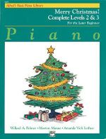 Alfred's Basic Piano Course Merry Christmas! : Complete 2 & 3 - Willard Palmer