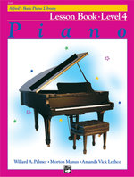 Alfred's Basic Piano Course Lesson Book, Bk 4 : Alfred's Basic Piano Library - Willard Palmer