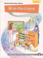 Alfred's Basic All-In-One Course, Bk 3 : Lesson * Theory * Solo - Willard Palmer