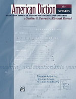 American Diction for Singers : 2 CDs - Geoffrey Forward