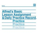 Lesson Assignment and Practice Record - Willard Palmer