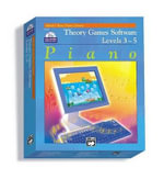 Theory Games for Windows/Macintosh (Version 1.5) -- Levels 3, 4, 5 : CD-ROM - Willard Palmer