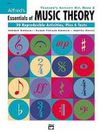 Alfred's Essentials of Music Theory, Bk 2 : Teacher's Activity Kit - Karen Surmani