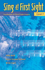 Sing at First Sight, Bk 1 : Foundations in Choral Sight-Singing - Karen Surmani