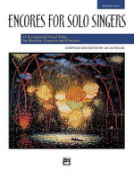 Encores for Solo Singers : Medium High Voice