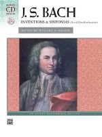 Bach -- Inventions & Sinfonias (2 & 3 Part Inventions) : Comb Bound Book & CD - Valery Lloyd-Watts
