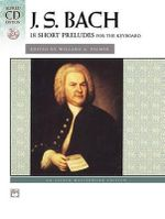 Bach -- 18 Short Preludes : Book & CD - Kim O'Reilly