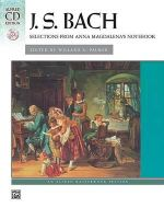 Bach -- Selections from Anna Magdalena's Notebook : Book & CD - Valery Lloyd-Watts