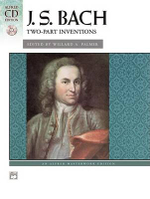 Bach -- Two-Part Inventions : Book & CD - Valery Lloyd-Watts