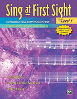 Sing at First Sight Reproducible Companion, Bk 1 : Foundations in Choral Sight-Singing, Book & CD - Karen Surmani