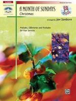 A Month of Sundays : Christmas, Book & CD - Jan Sanborn