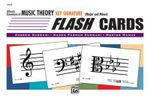 Alfred's Essentials of Music Theory : Key Signature Flash Cards (Major and Minor), Flash Cards - Karen Surmani