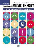 Alfred's Essentials of Music Theory : Complete Teacher's Activity Kit - Karen Surmani