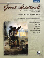 Great Spirituals (Portraits in Song) : An Anthology or Program for Solo Voice and Piano for Concert and Worship (Low Voice)