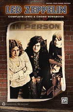 Led Zeppelin : Complete Lyric & Chord Songbook - Inc. Alfred Publishing Co.