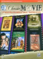 Classic Movie Instrumental Solos for Strings : Cello, Book & CD - Alfred Publishing
