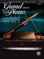 Grand Duets for Piano, Bk 6 : 5 Late Intermediate Pieces for One Piano, Four Hands