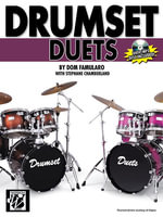 Drumset Duets :  Book & CD-ROM